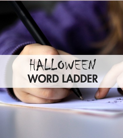 Halloween Word Ladder